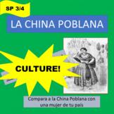 Cultural comparisons - La China Poblana