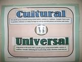 Cultural vs Universal