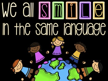 Culturally Responsive Classroom Posters & Word Wall Letters