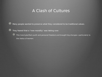 Culture: 1920s PowerPoint