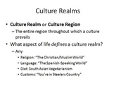 Culture: An analysis of the rise and fall of culture around the world.