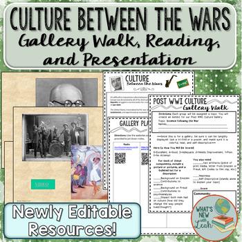 Culture Between the Wars Gallery Walk