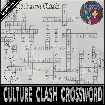 Culture Clash Crossword Puzzle