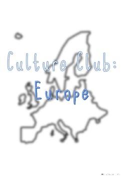 Culture Club: Europe (Autism Friendly)