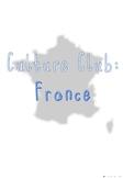 Culture Club: France (Autism Friendly)