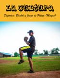Culture: Deportes (béisbol en DR y Juego de Pelota Maya)