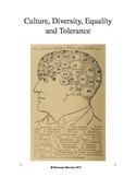 Culture, Diversity, Equality, Prejudice and Tolerance