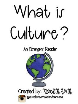 Culture Emergent Reader
