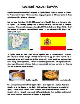 Culture Focus (6 Countries)