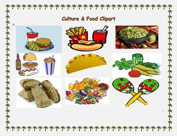 Culture & Food Clipart Collection