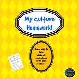 Culture Homework