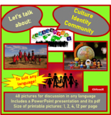 Culture Identity Community picture cards