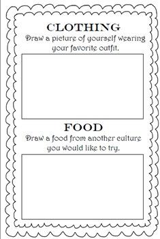 Culture Interactive Notebook