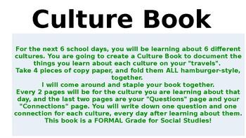 Culture Lessons