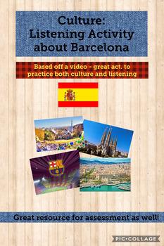 Culture: Listening activity - Barcelona