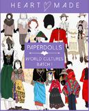 Culture Paper Doll: Clothes Batch 1