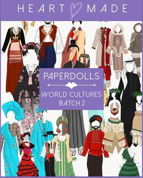 Culture Paper Doll: Clothes Batch 2