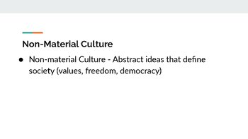 Culture PowerPoint, Guided Notes, and Completed Notes