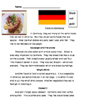 Culture Project: Food in Germany