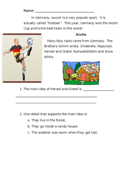 Culture Project: Leaders in Germany