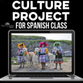 Assessment: Culture Project for Spanish Class