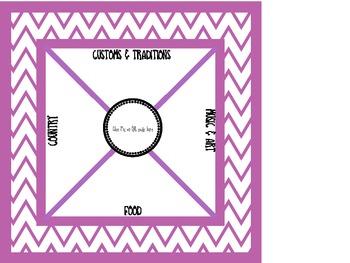Culture Quilt Craft/Activity