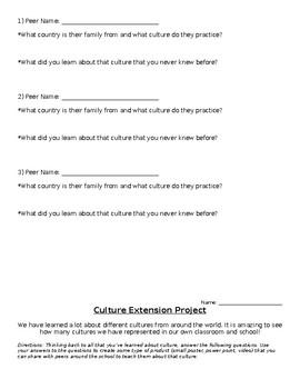 Culture Resume Project