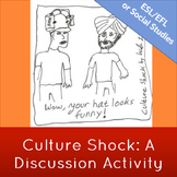 Culture Shock: Cross-Culture Discussion Activity