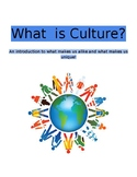 Culture Unit of Study
