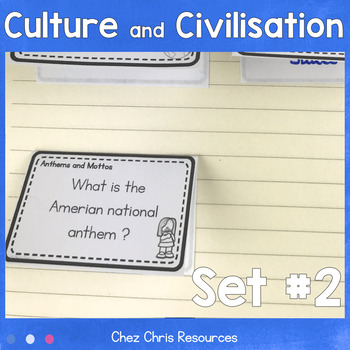 Culture and Civilisation questions (Second Set): 63 additi