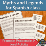 Colombian folktales (myths & legends): reading for Spanish class