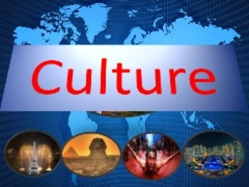 Comprehensive  lessons about culture (1 year long)