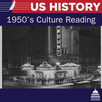 Culture during the 1950's reading and questions