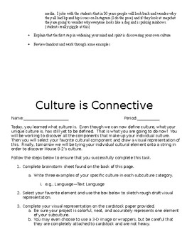 Culture is Connective