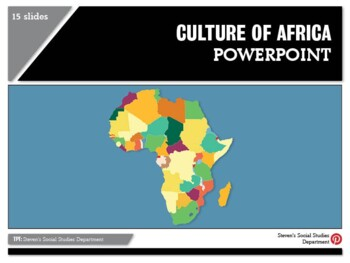 Culture of Africa PowerPoint