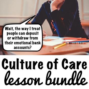 Culture of Care Lesson Bundle