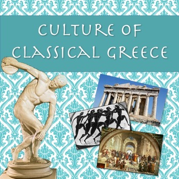 Culture of Classical Greece PowerPoint