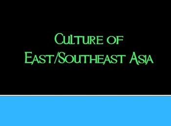 Culture of East/Southeast Asia