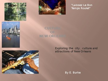 Culture of New Orleans