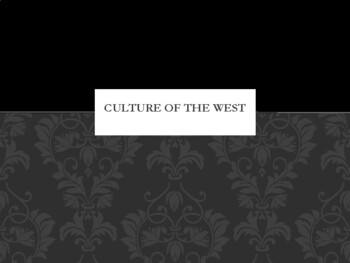 Culture of the West Region