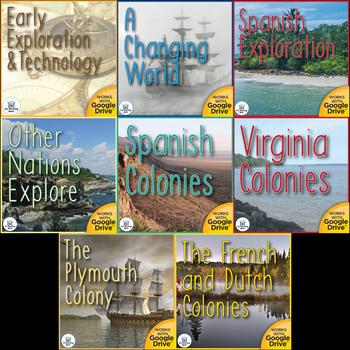 Cultures Meet US History Unit Mega Bundle