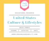 Cultures and Lifestyles of the United States Geography PowerPoint