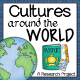 Cultures Around the World (Project Based Learning)
