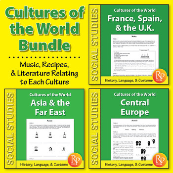 Cultures of the World {Bundle}