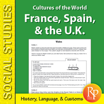 Cultures of the World: France, Spain, & the United Kingdom