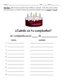 Cumpleaños Activity