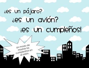 Cumpleaños para el salón Superhéroes/Superhero Birthdays