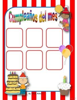 Cumpleaños del mes