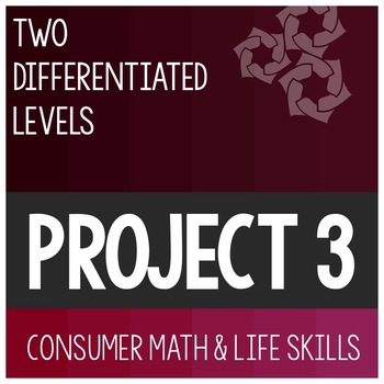 Cumulative Differentiated Project 3- High School Special Education