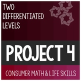 Cumulative Differentiated Project 4- High School Special Education